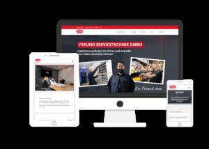 Referenz Freund Servicetechnik GmbH