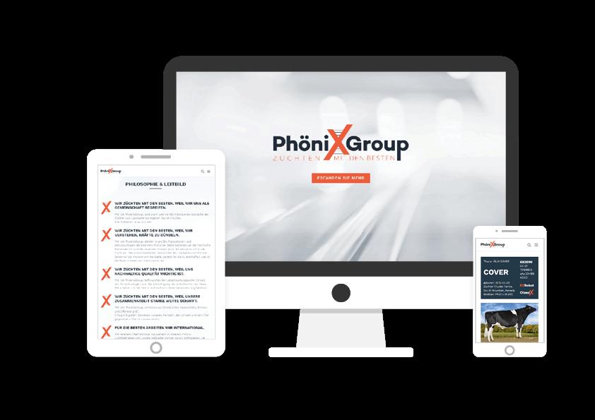 Referenz Phönix Group - Züchten mit den Besten
